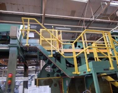 Access platform & handrail