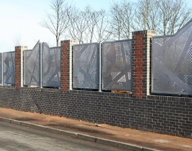Bespoke Fence Panels MW004