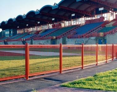 Bespoke Mesh Track Fence MW002