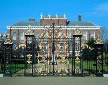 Ornamental Gate Kensington Palace GT002