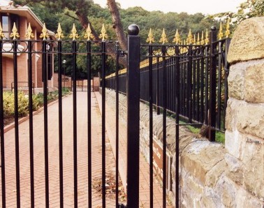 Ornamental Rondo Railings RL002